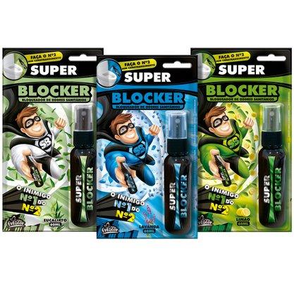SUPER BLOCKER 60ML SPRAY CX MISTA C/ 12 UNIDADES